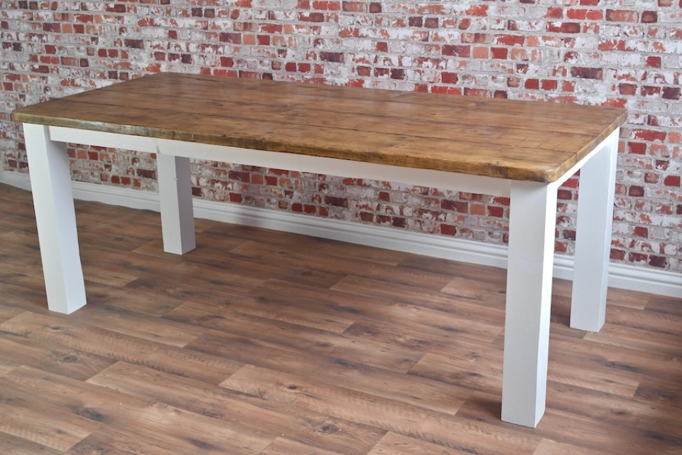 Rustic Reclaimed Wood Farmhouse and Industrial Dining Tables and Chairs by  Forget-Me-Knot Furniture