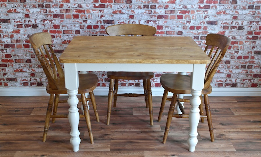 Four seater rustic dining set with traditional dining for 4 seater dining room table and chairs