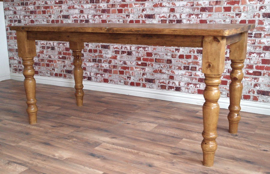 Farmhouse Reclaimed Wood Dining Table with Rustic Finish : s921829714726857809p146i27w900 from www.forget-me-knot.co.uk size 900 x 581 jpeg 191kB