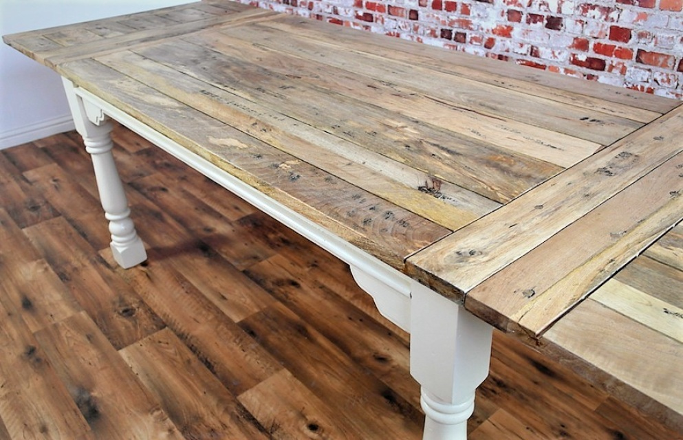 Reclaimed Wood Dining Tables Rustic Farmhouse Style : s921829714726857809p111i32w640 from www.forget-me-knot.co.uk size 993 x 640 jpeg 240kB